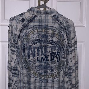 Affliction flannel